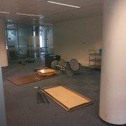 bedrijfsontruiming 12 kantoorruimtes diverse spullen en kantoor meubelen ontruimen
