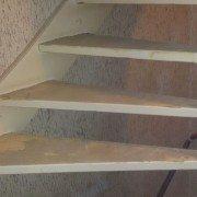 Vloer verwijderen Trap klaar en opgeleverd